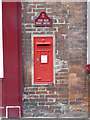 SK6567 : Ollerton Post Office postbox ref NG22 131 by Alan Murray-Rust