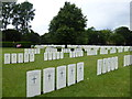 NT2773 : Commemorative cemetery, Queen's Park by kim traynor