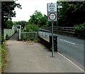 ST2999 : Weak bridge, New Road, Pontypool by Jaggery