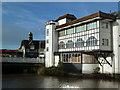 ST2224 : Former glove works, Bridge Street, Taunton by Chris Allen