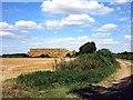 SP4522 : Big stack of bales by Des Blenkinsopp