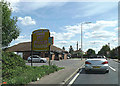 TL9023 : A120 Coggeshall Road & Marks Tey Discount Pet Foods by Adrian Cable