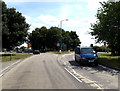 TL9123 : A120 Coggeshall Road, Marks Tey by Geographer