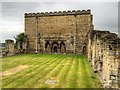 SK9771 : Remains of the Bishops' Palace, Lincoln by David Dixon