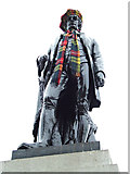 NS5965 : Rabbie Burns with tartan scarf and bonnet by Thomas Nugent