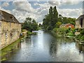 TF0306 : River Welland, Stamford by David Dixon