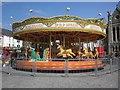 SH4762 : Carousel in Castle Square by Roger Cornfoot