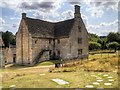 SK9224 : Farmhouse, Woolsthorpe Manor by David Dixon