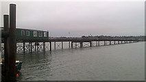 SU4208 : Hythe ferry pier by Rudi Winter