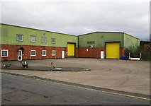 SO8170 : Industrial units at Severnside Business Park, Severn Road, Stourport-on-Severn by P L Chadwick