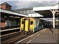 SH7977 : A train from Blanau Ffestiniog arrives at Llandudno Junction by Roger Cornfoot