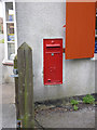 SK7267 : Laxton Post Office postbox NG22 107 by Alan Murray-Rust