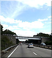 TM1441 : A14 Felixstowe Road & Railway Bridge by Adrian Cable