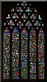 ST5545 : Stained glass window, n.II, Wells Cathedral by Julian P Guffogg