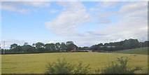 N3623 : Field and farm by Ian Paterson