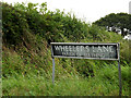 TM3097 : Wheelers Lane sign by Adrian Cable