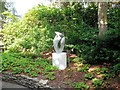 SZ0589 : Sculpture near entrance of Compton Acres by Paul Gillett