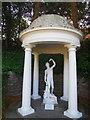SZ0589 : Sculpture in Italian Garden by Paul Gillett