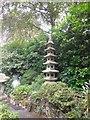 SZ0589 : Pagoda in Japanese Gardens by Paul Gillett