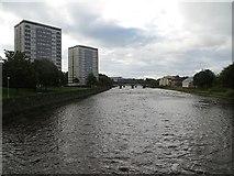 NS3421 : River Ayr by Richard Webb