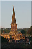 SK2168 : Bakewell Church by Peter Barr