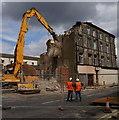 TA1028 : Demolition of  Hull's Wholesale Fruit Market Area by Ian S