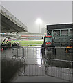 TQ2682 : A downpour at Lord's by John Sutton