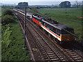 NY5520 : Trains at Thrimby Bridge (WCML) - 1992 (2) by The Carlisle Kid