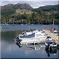 NG8033 : Boats at Plockton by Andrew Hill