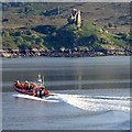 NG7626 : Lifeboat on Loch Alsh by Andrew Hill