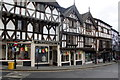 SO5174 : Tudor-style buildings in Broad Street, Ludlow by Mike Pennington