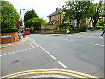 TQ2470 : The Grange crosses Ridgway to Ridgway Place by Shazz