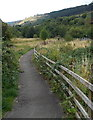 SS9092 : Brambly path through the Garw Valley, Blaengarw by Jaggery