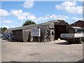 TM4488 : WW2 Nissen hut in Ellough by Evelyn Simak