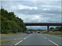 ST4718 : Bridge over A303, north of Stoke sub Hamdon by David Smith