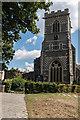 TQ2496 : Tower, John the Baptist Church, Barnet by Christine Matthews