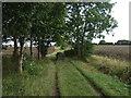 TL2280 : Bridleway towards Little Raveley by JThomas
