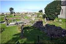 D3115 : St Patrick's graveyard and former friary Glenarm by Jo Turner