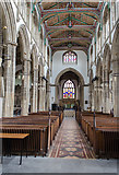 ST5445 : Interior, St Cuthbert's church, Wells by Julian P Guffogg