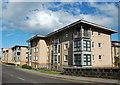 NJ9406 : Modern flats, Constitution Street, Aberdeen by Bill Harrison