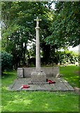 TQ7924 : Ewhurst Green, St James the Great Cemetery War Memorial by Peter Skynner