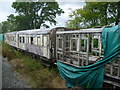 TQ7925 : Derelict carriages on the Kent & East Sussex Railway by Marathon