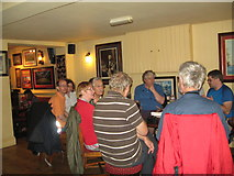SU4208 : Eve of AGM 2014 Geographers in Hythe 5-Hants by Martin Richard Phelan