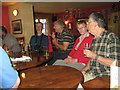 SU4208 : Eve of AGM 2014 Geographers in Hythe 8-Hants by Martin Richard Phelan