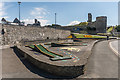 SN5781 : Crazy golf and Aberystwyth Castle by Ian Capper