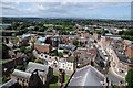 SO5039 : View from Hereford Cathedral by Philip Halling