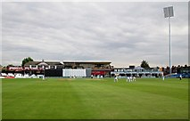 SP7761 : County cricket at Northampton by John Sutton