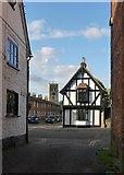SP7006 : Church Road and Williams Almshouses, Thame by Stefan Czapski