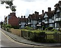 SP9211 : Louisa Cottages and the eastern end of Park Road by Rob Farrow