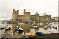 SH4762 : Caernarfon Castle by Richard Croft